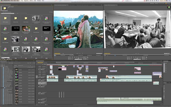 Strihani a editace videí
